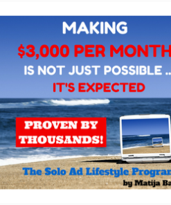 The Solo Ad Lifestyle Course